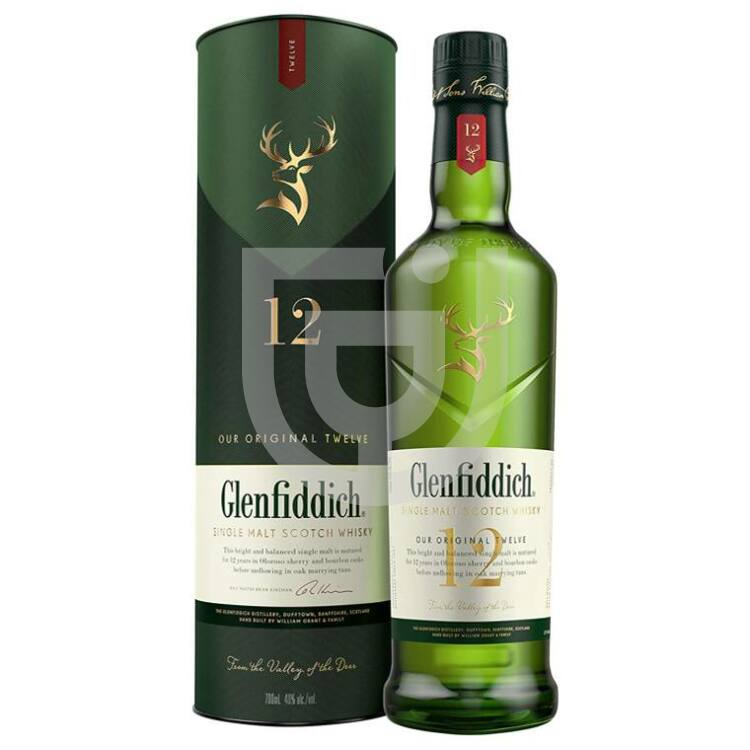 Glenfiddich 12 Years Whisky [0,7L 40%]