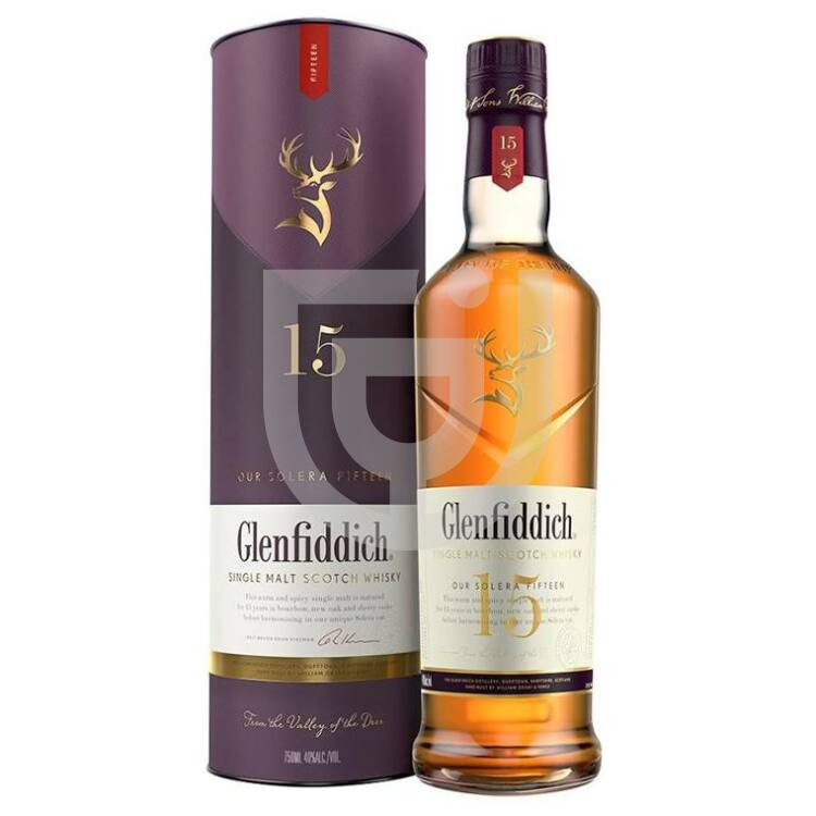Glenfiddich 15 Years Whisky [0,7L 40%]
