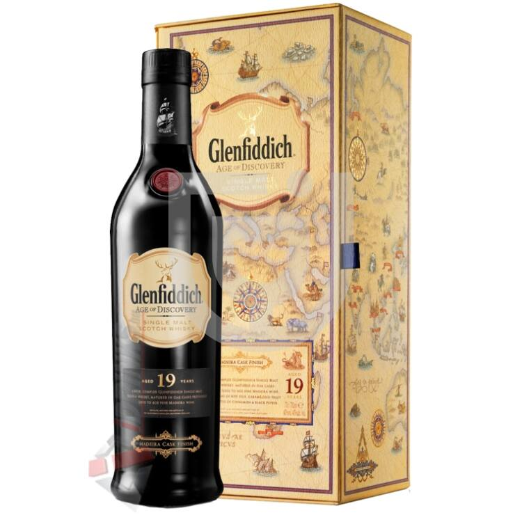 Glenfiddich 19 Years Age of Discovery Madeira Cask Whisky [0,7L|40%]