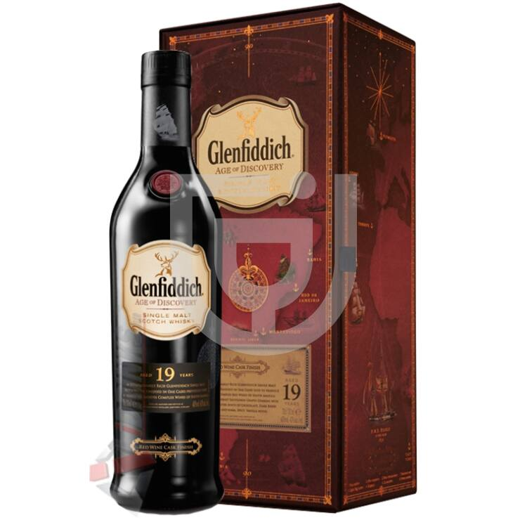 Glenfiddich 19 Years Age of Discovery Red Wine Cask Whisky [0,7L|40%]