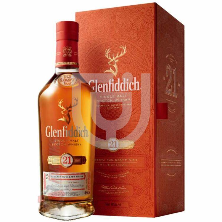 Glenfiddich 21 Years Whisky Reserva Rum Cask Finish [0,7L 43,2%]
