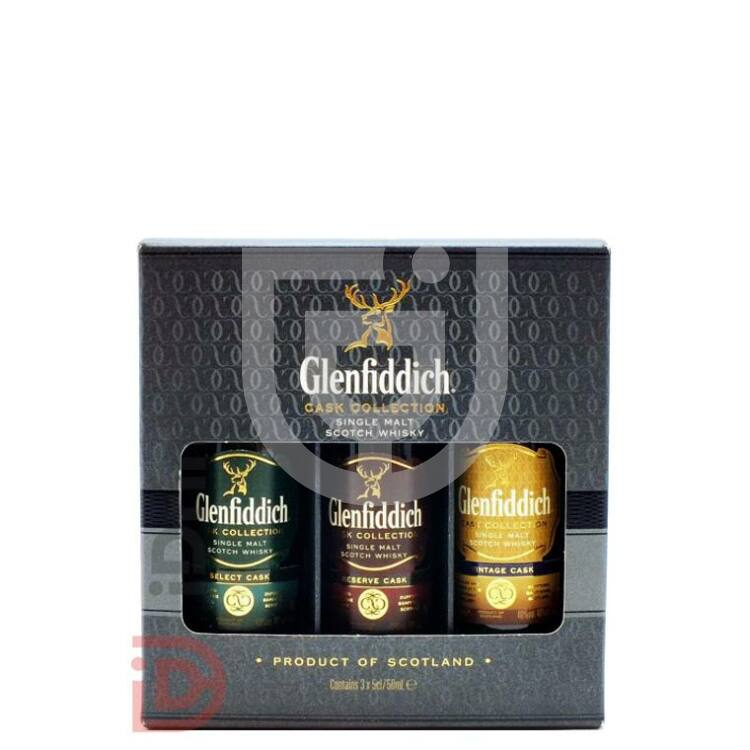 Glenfiddich Cask Collection Whisky Mini Collection [3*0,05L 40%]
