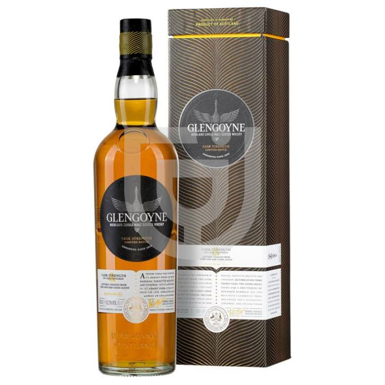 Glengoyne Cask Strength Whisky [0,7L 58,2%]