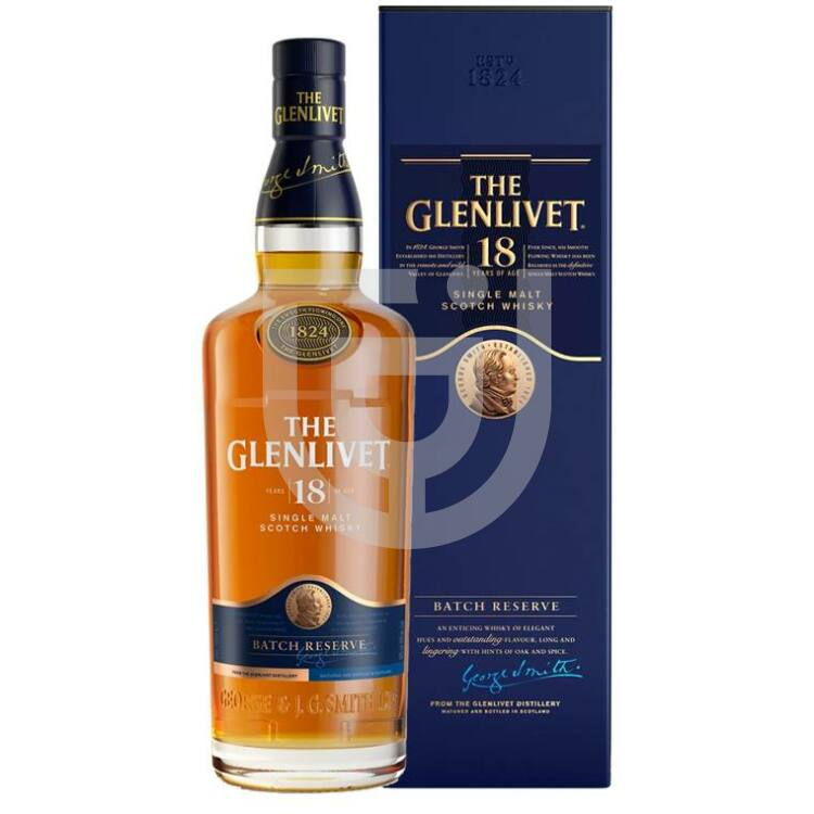 Glenlivet 18 Years Whisky [0,7L 43%]