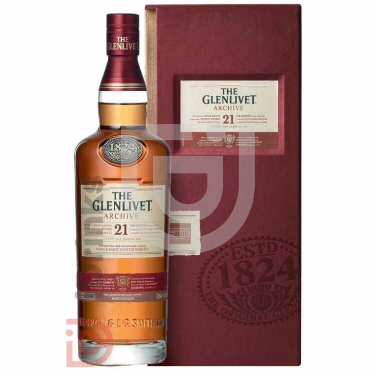 Glenlivet 21 Years Whisky [0,7L|43%]