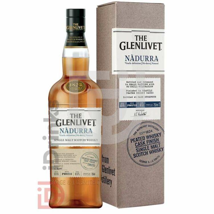 Glenlivet Nadurra Peated Whisky [0,7L|61,8%]