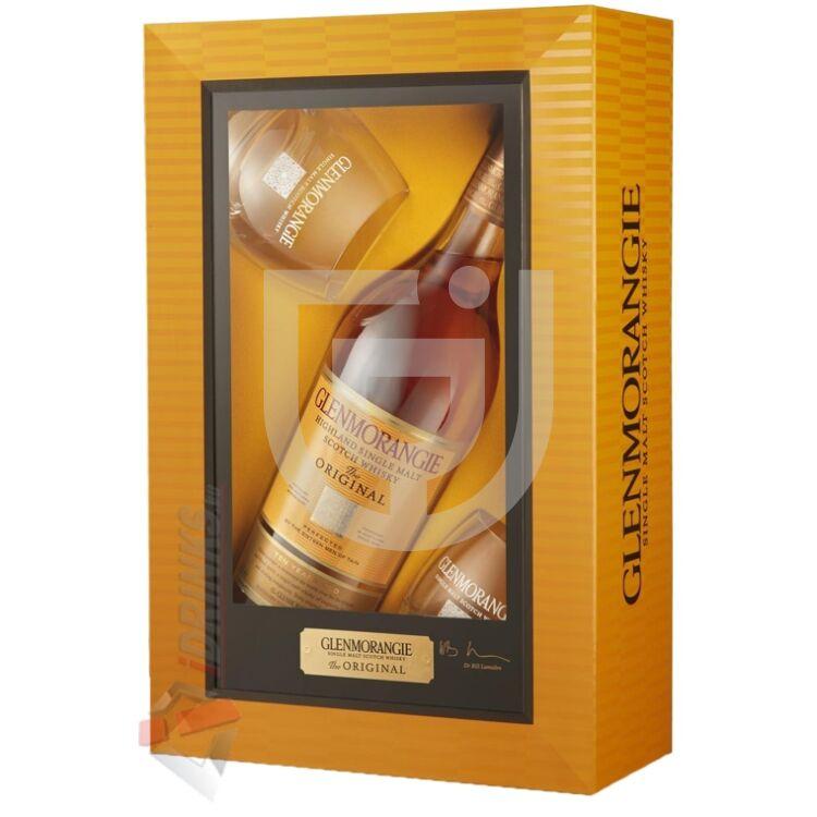 Glenmorangie Original 10 Years Whisky (DD+2 Pohár) [0,7L|40%]