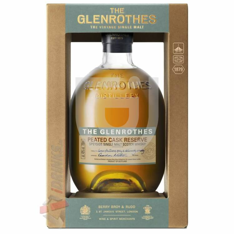 Glenrothes Peated Cask Whisky [0,7L|40%]