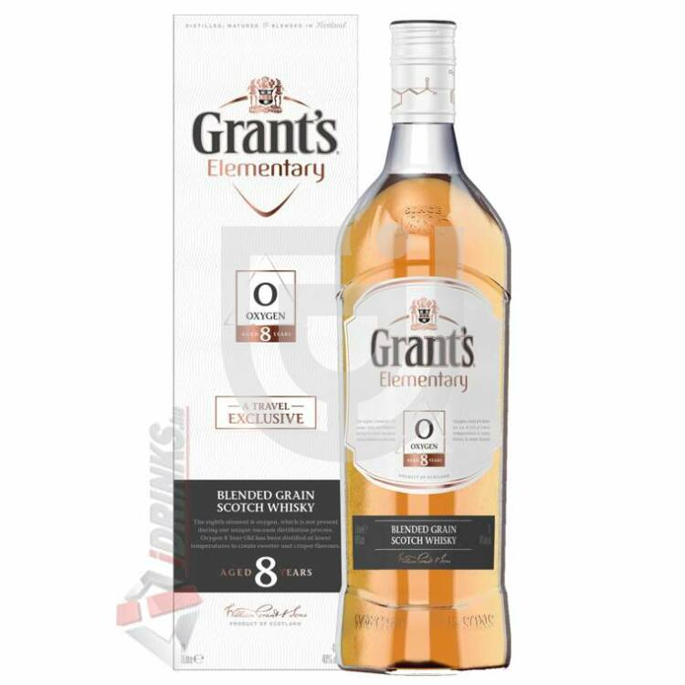 Grants 8 Years Elementary Oxygen Whisky [1L|40%]