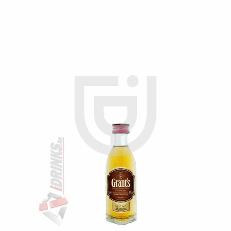 Grants Whisky Mini [0,05L|40%]
