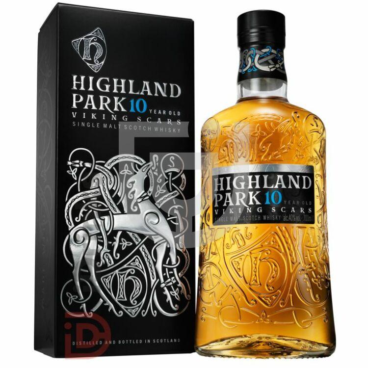 Highland Park 10 Years Viking Scars Editon Whisky [0,7L|40%]