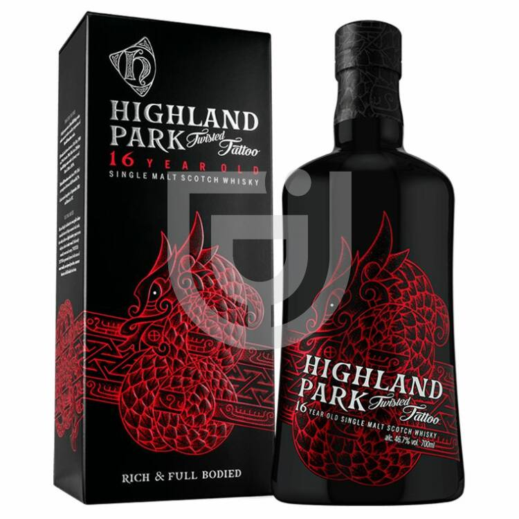 Highland Park 16 Years Twisted Tattoo Whisky [0,7L 46,7%]