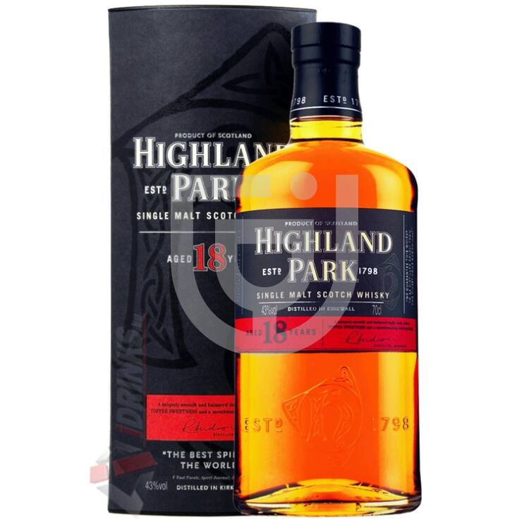 Highland Park 18 Years Whisky [0,7L|43%]