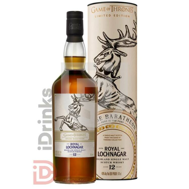 House Baratheon & Royal Lochnagar 12 Years Whisky - Game of Thrones Collection [0,7L|40%]
