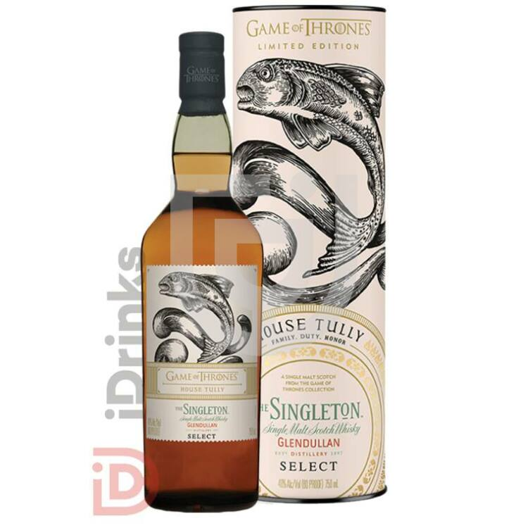 House Tully & Singleton Glendullan Reserve Whisky - Game of Thrones Collection [0,7L|40%]