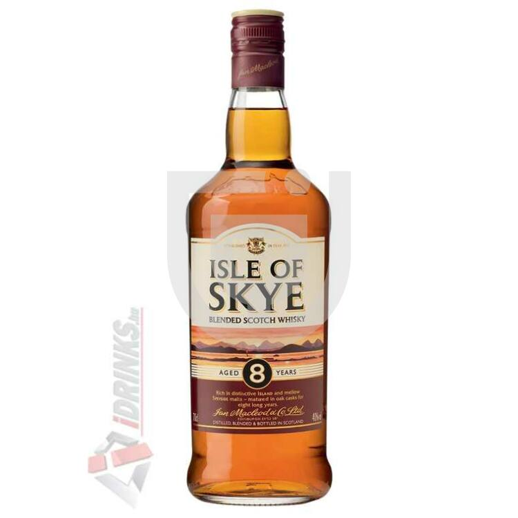 Isle of Skye 8 Years Whisky [0,7L|40%]