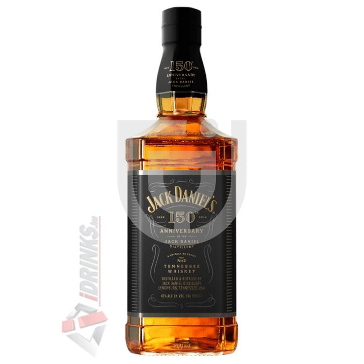 Jack Daniels 150th Anniversary Limited Edition Whiskey [0,7L|43%]