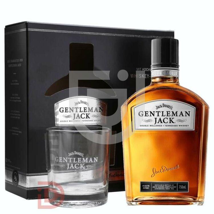 Jack Daniels Gentleman Jack Whiskey (DD+Pohár) [0,7L|40%]