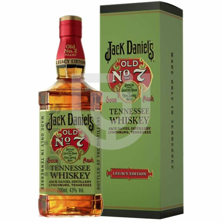Jack Daniels Old No.7 Legacy Whiskey [0,7L|43%]