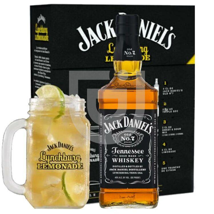 Jack Daniels Whiskey (Lynchburg Lemonade Bögrével) [0,7L|40%]