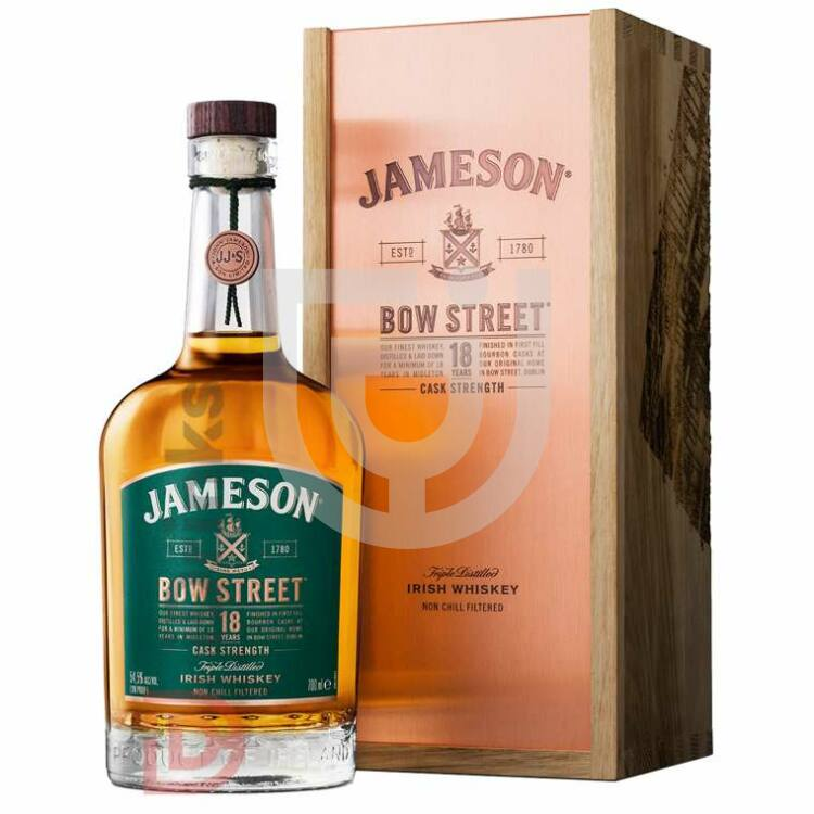 Jameson 18 Years Bow Street Whiskey [0,7L|55,3%]