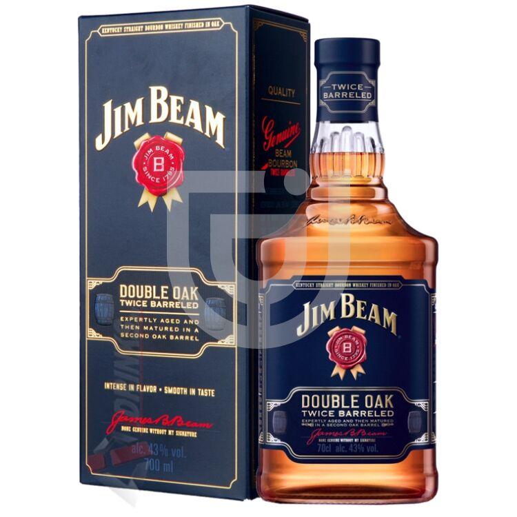 Jim Beam Double Oak Whisky (DD) [0,7L 43%]