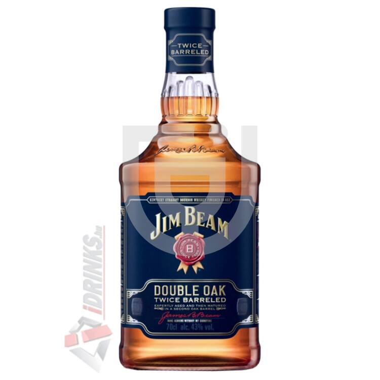 Jim Beam Double Oak Whiskey [0,7L|43%]