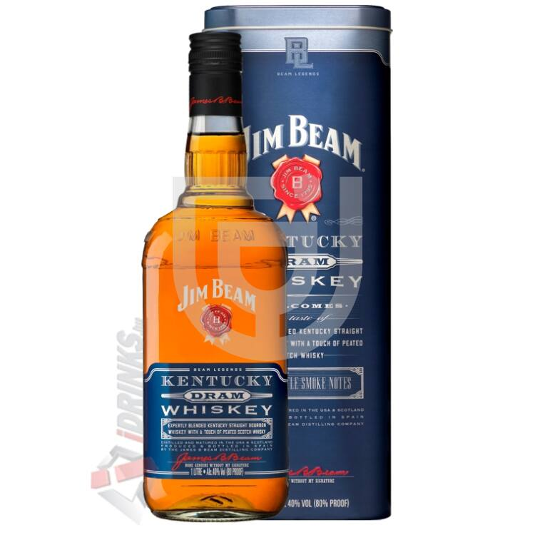 Jim Beam Kentucky Dram Whiskey [1L|40%]