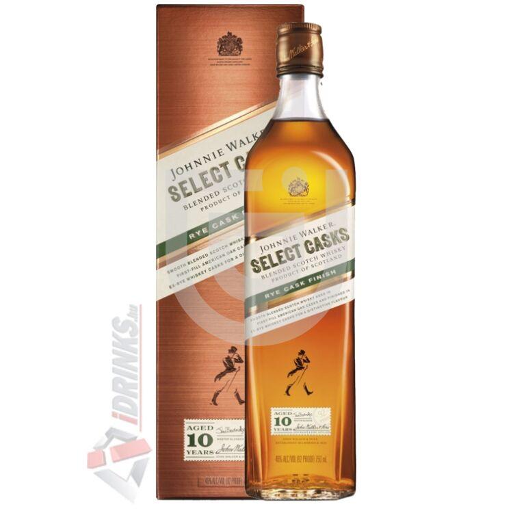 Johnnie Walker 10 Years Rye Cask Finish Whisky [1L|46%]