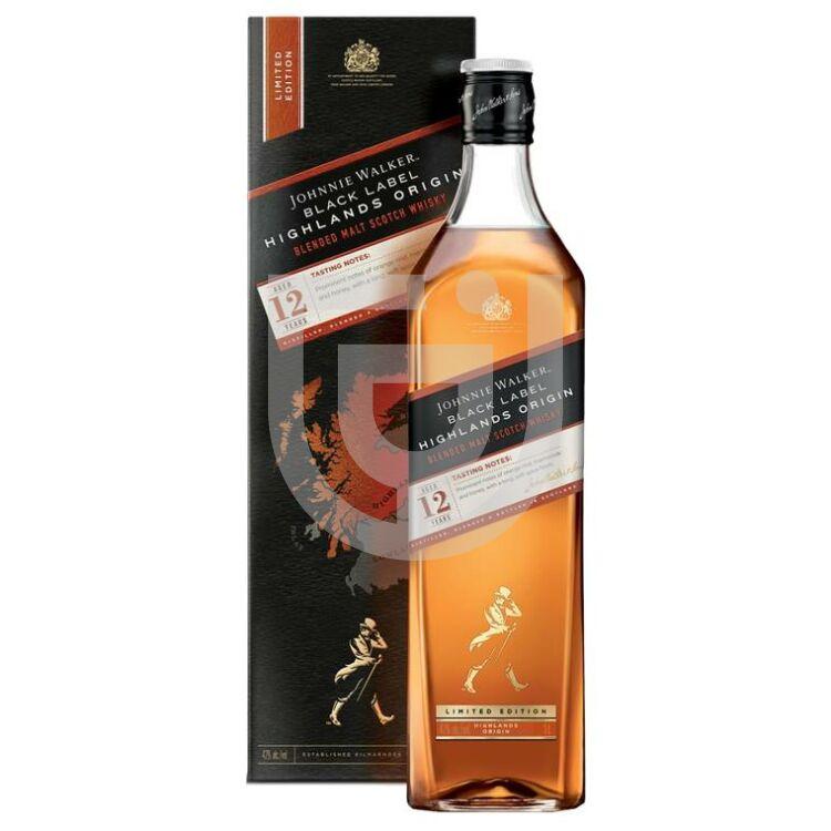 Johnnie Walker Black Highlands Origin Whisky [1L 42%]