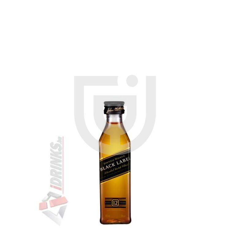 Johnnie Walker Black Label Whisky Mini [0,05L|40%]