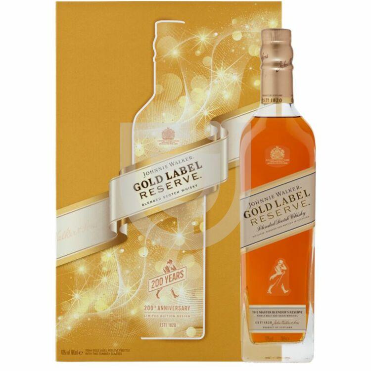 Johnnie Walker Gold Label (Reserve) Whisky (DD+2 Pohár) [0,7L|40%]