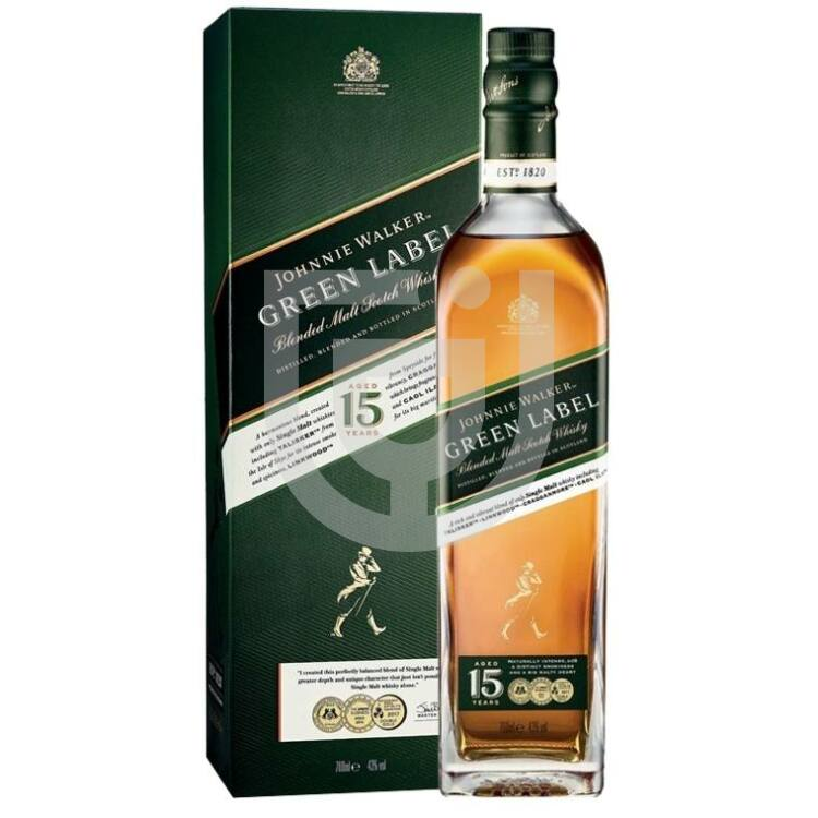 Johnnie Walker Green Label Whisky [0,7L|43%]
