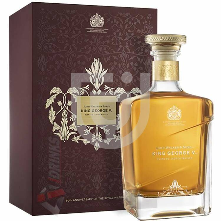 Johnnie Walker King George Royal Warrant Edition Whisky [0,7L|43%]