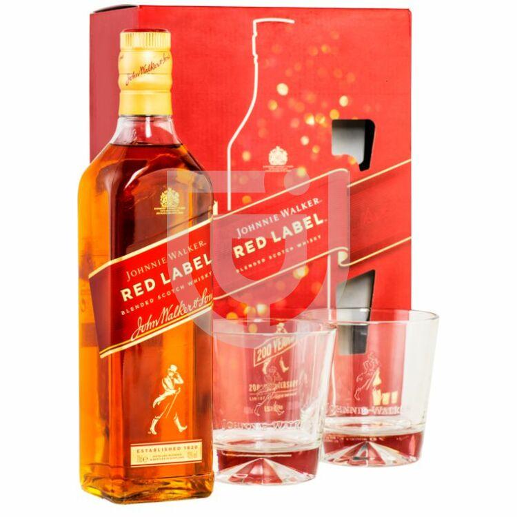 Johnnie Walker Red Label Whisky (DD+ Pohár)  [0,7L|40%]