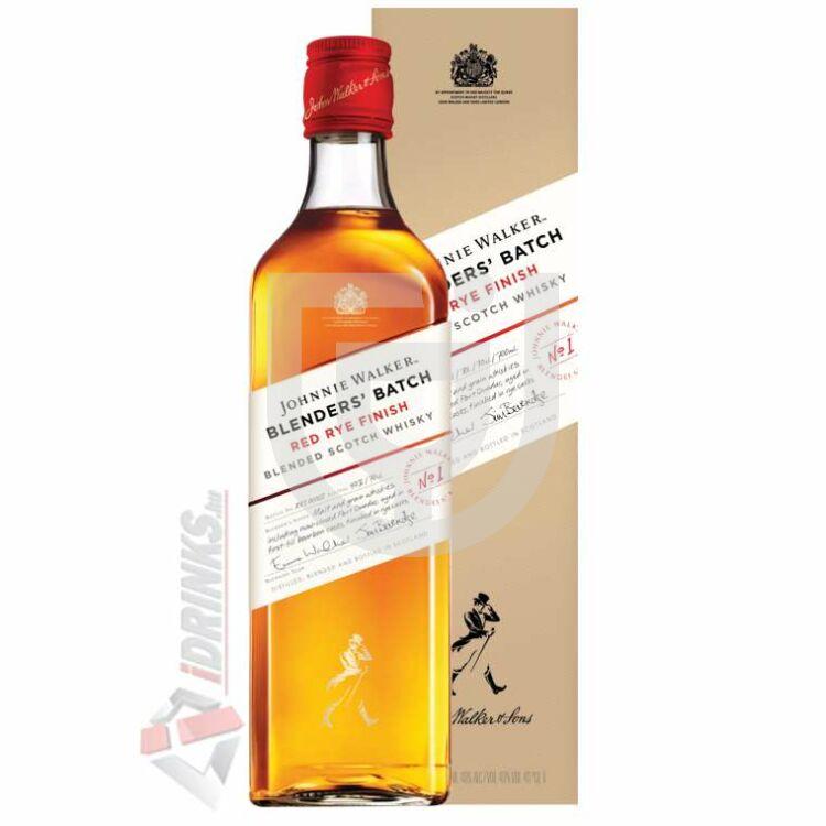 Johnnie Walker Red Rye Finish Whisky (DD) [0,7L 40%]