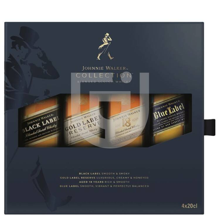 Johnnie Walker Whisky Collection [4*0,2L|40%]