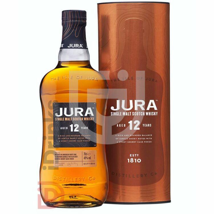 Jura 12 Years Whisky [0,7L 40%]