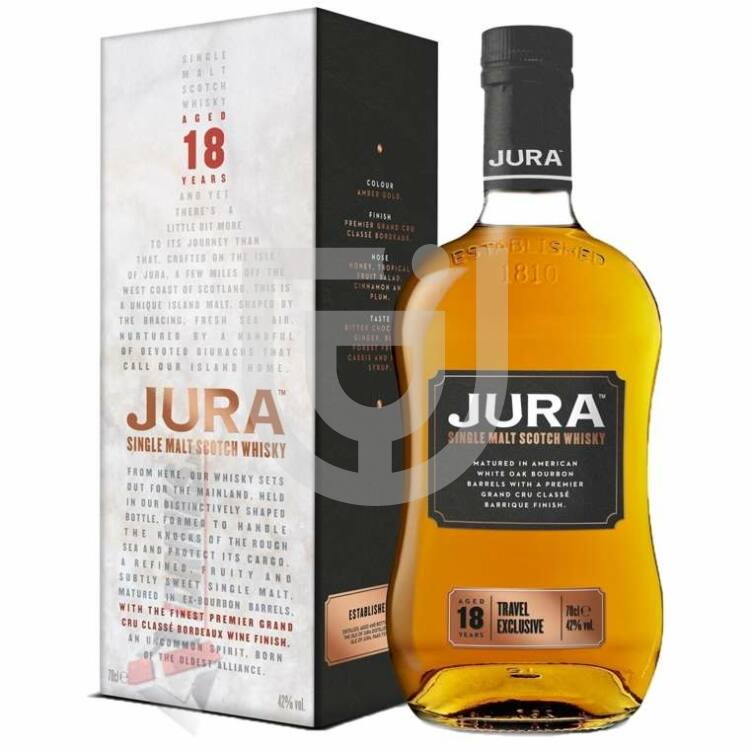 Jura Travel Exclusive 18 Years Whisky [0,7L 42%]