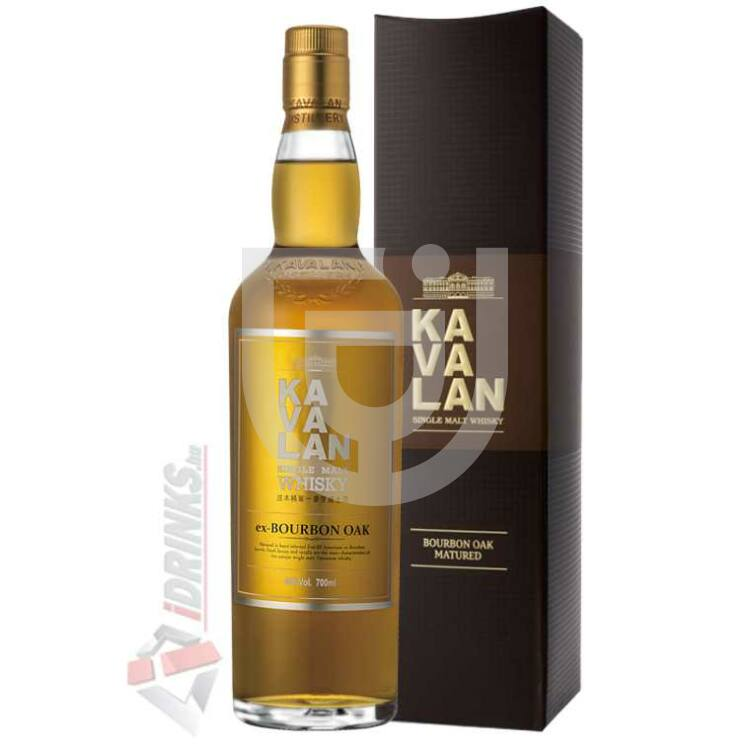 Kavalan Ex-Bourbon Oak Whisky [0,7L|46%]