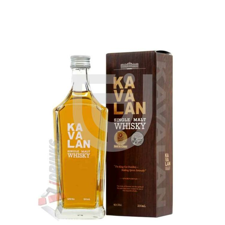 Kavalan Single Malt Whisky [0,2L|40%]