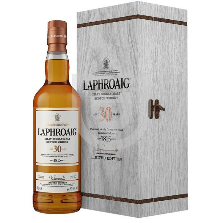 Laphroaig 30 Years Limited Edition Whisky [0,7L|53,5%]