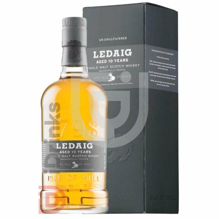 Ledaig 10 Years Peated Single Malt Whisky [0,7L|46,3%]
