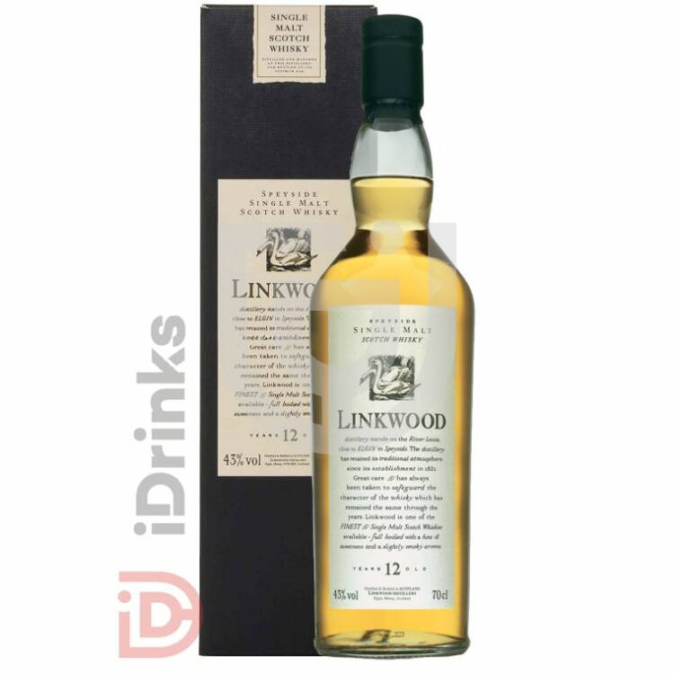 Linkwood 12 Years Whisky [0,7L|43%]