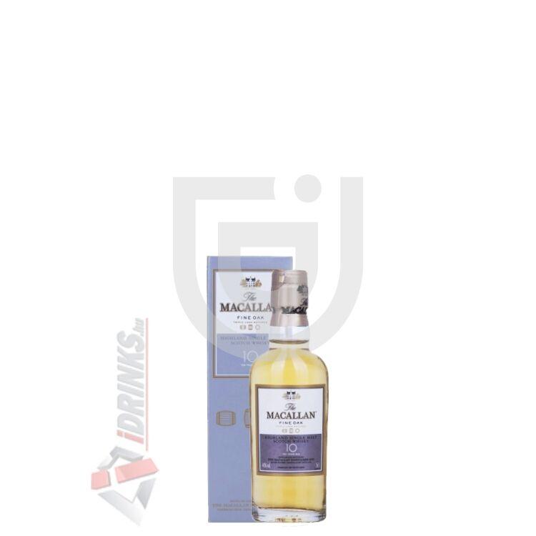 Macallan 10 Years Fine Oak Whisky Mini [0,05L|40%]