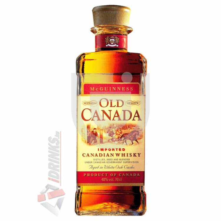 McGuinness Old Canada Whisky [0,7L|40%]
