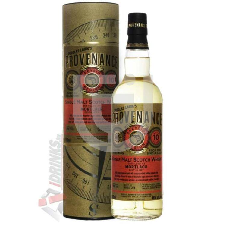 Mortlach 10 Years Provenance Whisky [0,7L|46%]