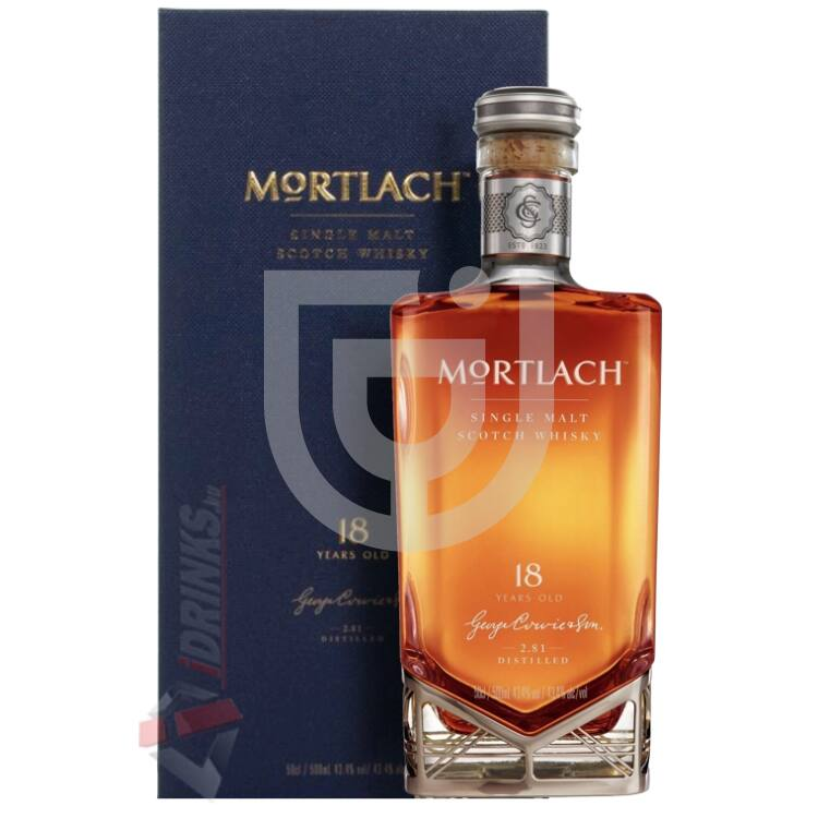 Mortlach 18 Years Whisky [0,5L 43,4%]