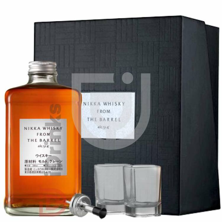 Nikka from the Barrel Whisky (DD+Pohár) [0,5L|51,4%]