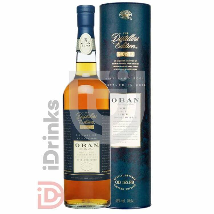 Oban Distillers Edition Whisky [0,7L|43%]